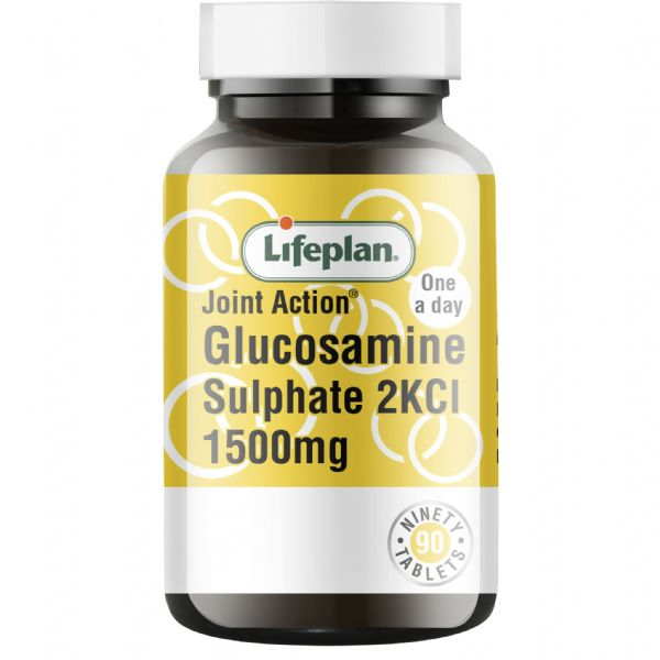 Lifeplan - Glucosamine Hi Strength 2KCl 1500mg X 90 Tabs
